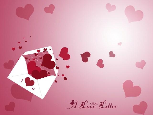 Instrucciones para escribir una carta de amor